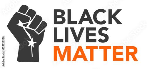 Fényképezés  Black Lives Matter Illustration