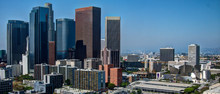 Downtown Los Angeles And Disne...