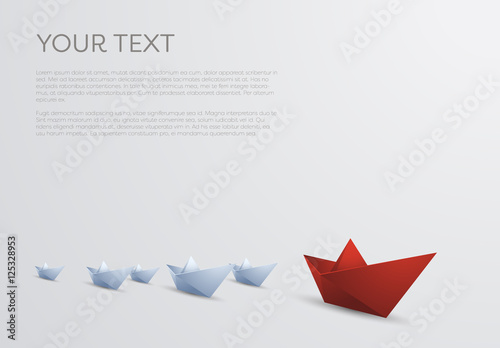 Paper Boats Illustration Buy This Stock Template And Explore