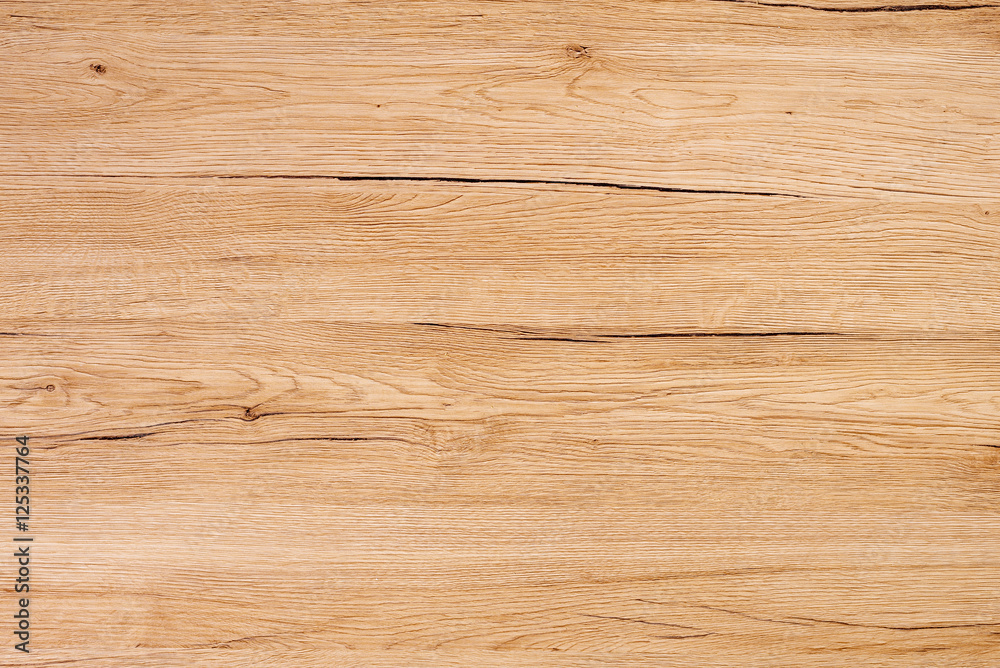 Fototapeta Rustic wooden surface, table top view