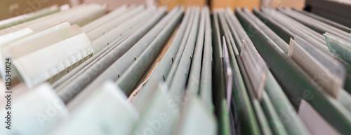 Fotografie, Obraz  blurred file folder