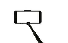 Mobile Phone On Selfie Stick O...
