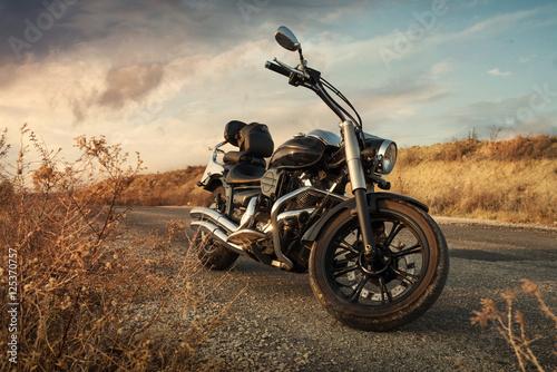 Foto op Plexiglas Fiets Motorbike