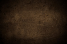 Empty Brown Concrete Surface T...