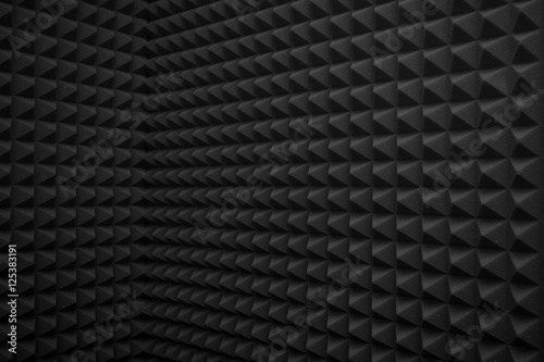 black abstract background Fototapet