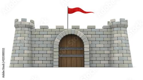 fort Fotobehang