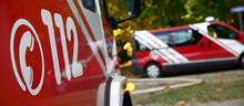 Banner Feuerwehr Einsatz Mit 112