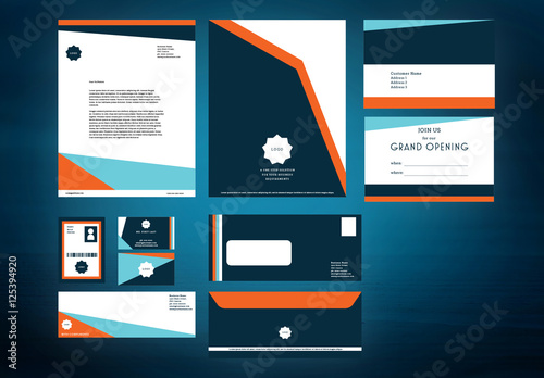 Business Stationery Branding Layouts Pack Buy This Stock Template