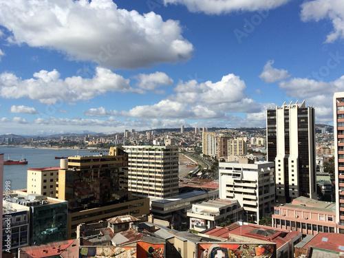 Fototapety, obrazy: View of Valparaiso