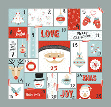 Christmas Advent Calendar Cute...