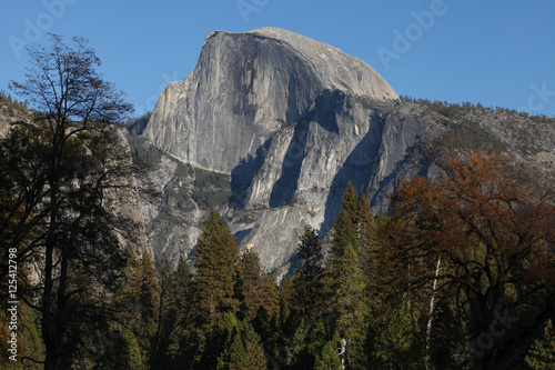 Photo  Half Dome as seen from Yosemite Valley.
