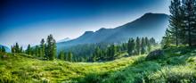 Mountain Range Chamar-Daban, Siberia