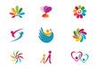 Health people ,family life ,Community logo