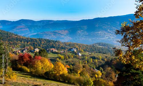 Photo Herbst im Munstertal