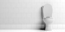 Toilet Bowl Isolated On White ...