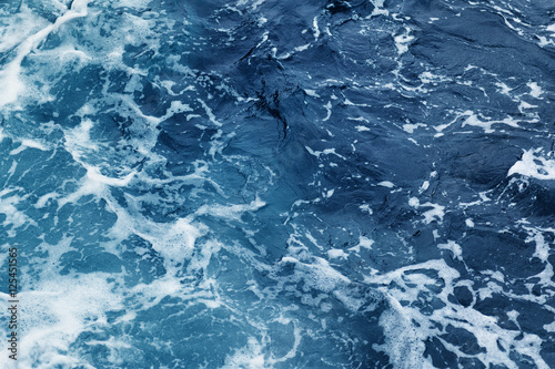 Fotobehang Zee / Oceaan rippled ocean waves