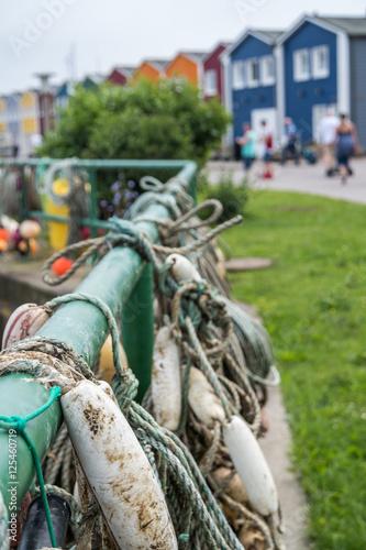 Photo  Hummerbuden auf Helgoland
