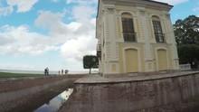 Hermitage Pavilion In Peterhof