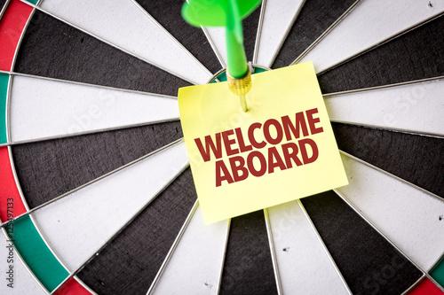 Fotografie, Obraz  Welcome Aboard