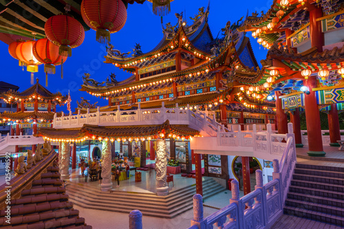 Photo  Thean Hou Temple on the Mid-Autumn Festival, Kuala Lumpur