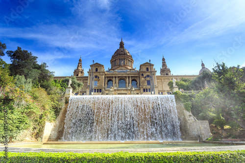 Photo National Art Museum of Catalonia, Barcelona, Spain