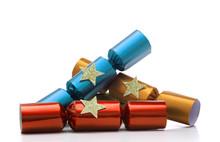 Pile Christmas Crackers