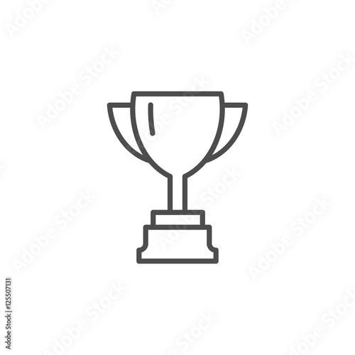 Vászonkép Vector cup