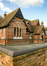 Old English School House And P...