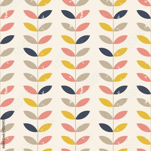 Tapeta ścienna na wymiar Twigs pattern.