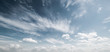 Leinwandbild Motiv Sky and clouds atmosphere background