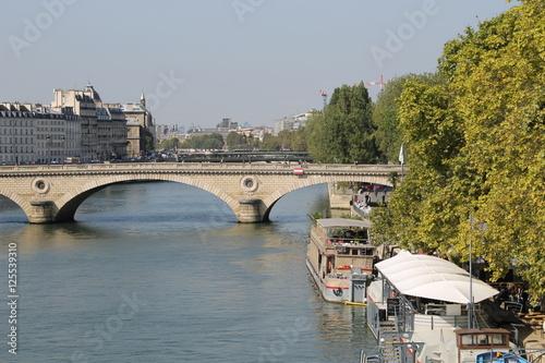 Fotografie, Obraz  Pont Louis-Philippe bridge