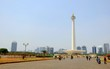 National Monument (Monas) at daylight, this is one of iconic monument in Jakarta, Indonesia