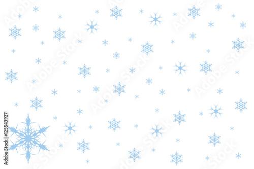 Fototapeta płatki śniegu obraz
