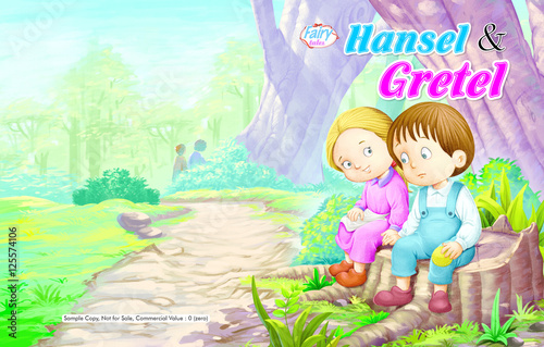 Hansel And Gretel Story Cover Page