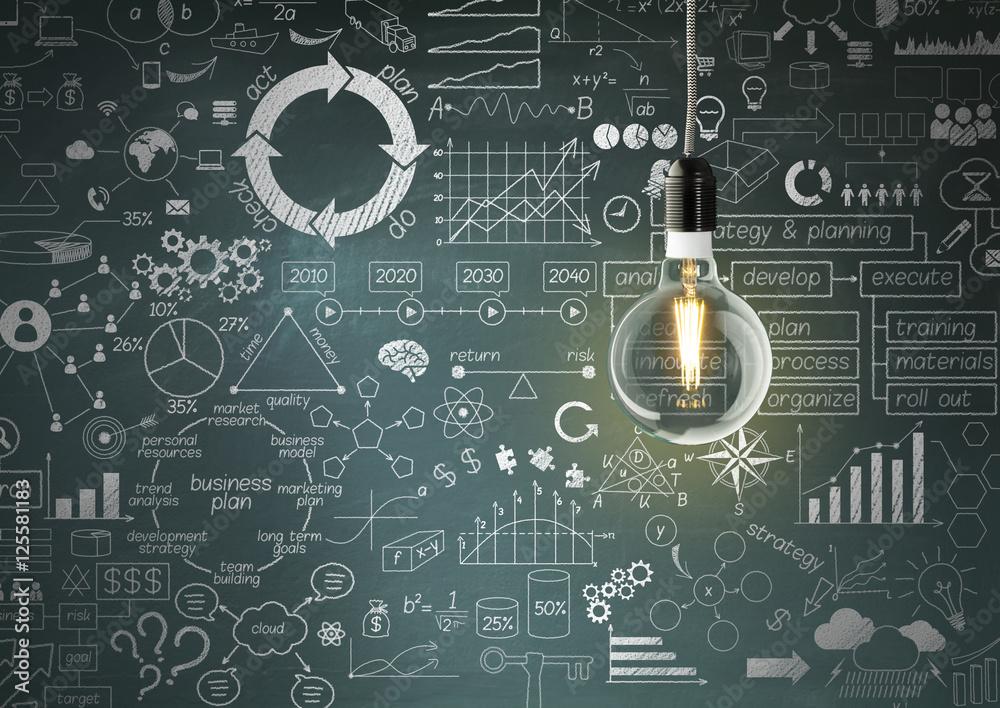 Fototapeta Business Strategy
