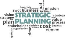 Word Cloud - Strategic Planning