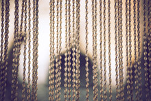 Bead Curtains Pattern, Texture Background