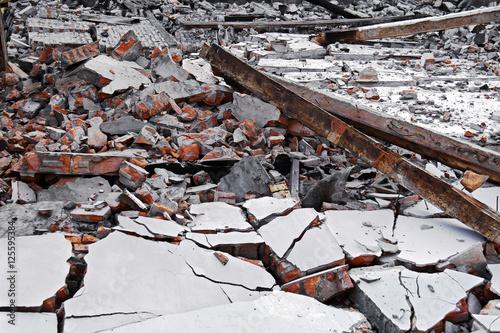 Zdjęcie XXL Zniszczenie domu