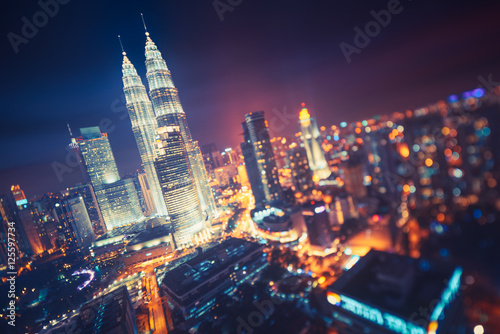 Canvas Print Kuala Lumpur, Malaisie