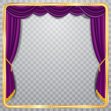 Square Purple Stage