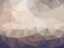 Brown Geometric Mosaic Backgro...