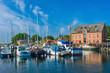 Hafen in Orth auf Fehmarn