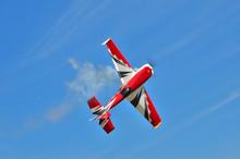 Flying The Plane Performs Aero...