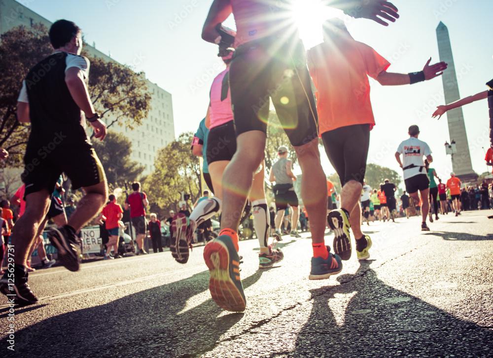 Fototapety, obrazy: Semi Marathon Marseille Cassis