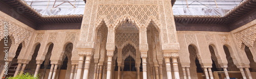 Alhambra Palace Canvas Print