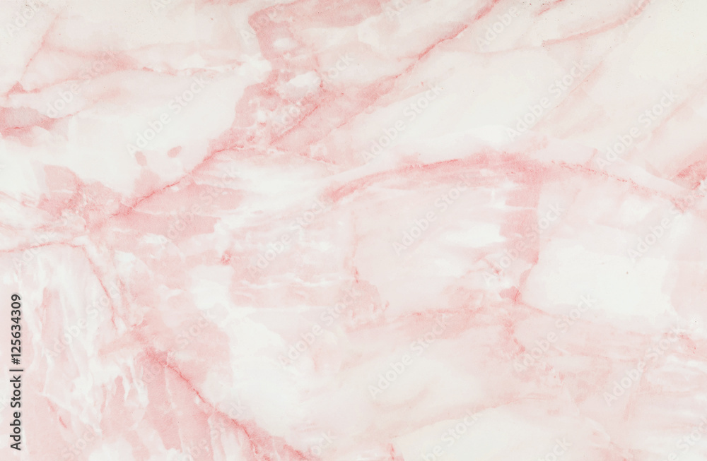 Fototapety, obrazy: Closeup surface abstract marble pattern at the pink marble stone floor texture background