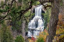 Undine Falls, Yellowstone National Park, Montana, America, USA
