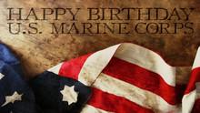 Happy Birthday US Marine Corps...