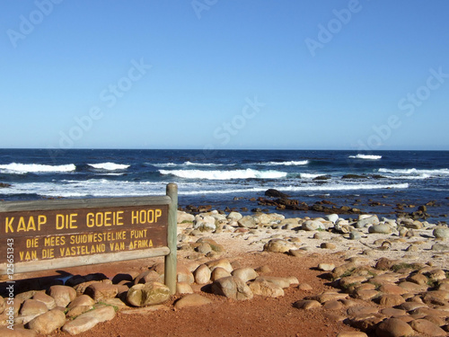 Fotografering  Cape of Good Hope Sign, South Africa