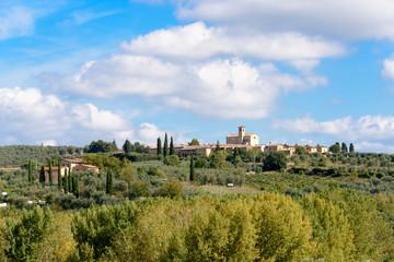 Fototapeta na wymiar Certosa di Pontignano in der Nähe von Siena